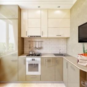 кухня в панельном доме фото декора