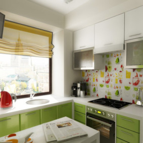 кухня в панельном доме декор идеи