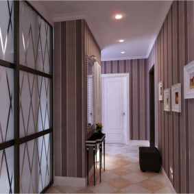 дизайн обоев для узкого коридора идеи декор