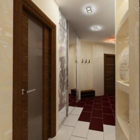 дизайн обоев для узкого коридора идеи декора