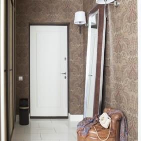 дизайн обоев для узкого коридора идеи оформление