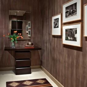 дизайн обоев для узкого коридора фото варианты