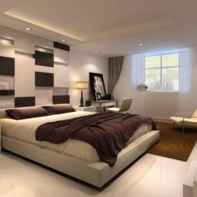 дизайн спальни 14 кв м цветовое оформление