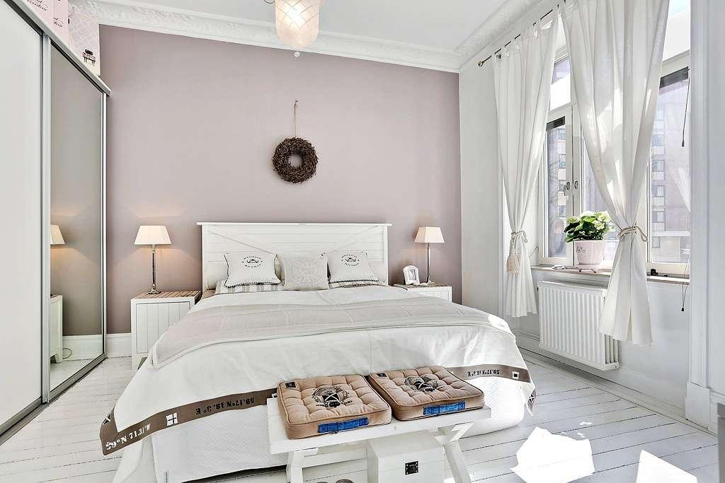 спальня 14 кв метров скандинавский стиль