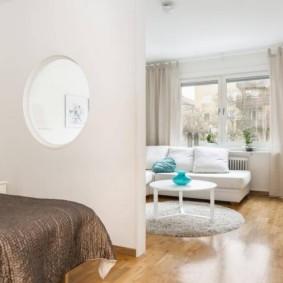 дизайн спальни гостиной 16 кв м фото вариантов