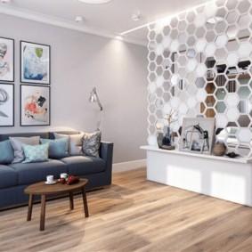 дизайн спальни гостиной 16 кв м виды дизайна