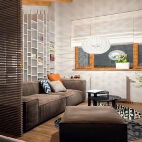 дизайн спальни гостиной 16 кв м виды декора