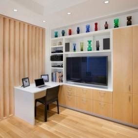 дизайн спальни гостиной 16 кв м виды оформления