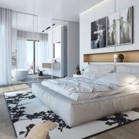 современная спальня в светлых тонах виды идеи
