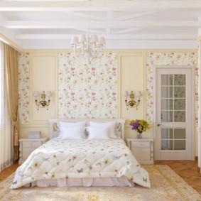 современная спальня в светлых тонах виды дизайна