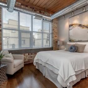 современная спальня в светлых тонах идеи оформления