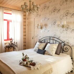 современная спальня в светлых тонах фото оформления