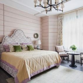 современная спальня в светлых тонах оформление фото
