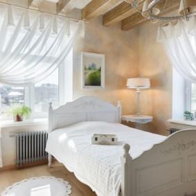 современная спальня в светлых тонах идеи дизайна