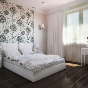 современная спальня в светлых тонах идеи варианты