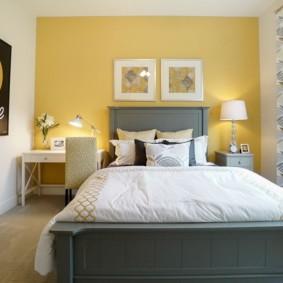 современная спальня в светлых тонах фото дизайн