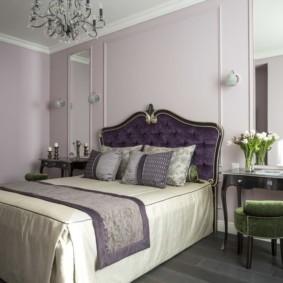 современная спальня в светлых тонах фото идеи