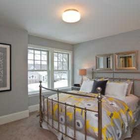 современная спальня в светлых тонах идеи вариантов