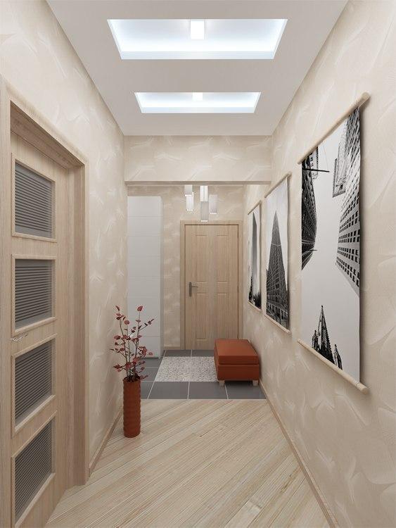 узкий коридор в панельном доме идеи интерьера