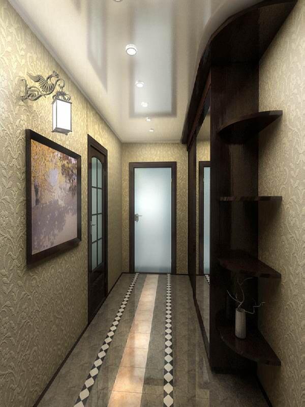 узкий коридор в панельном доме идеи декора