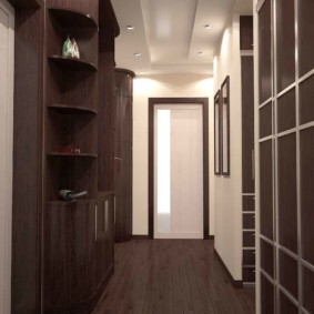 узкий коридор в квартире интерьер