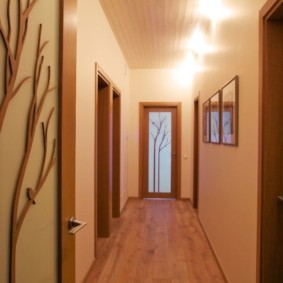 длинный узкий коридор в квартире фото дизайна
