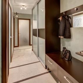 длинный узкий коридор в квартире идеи дизайн
