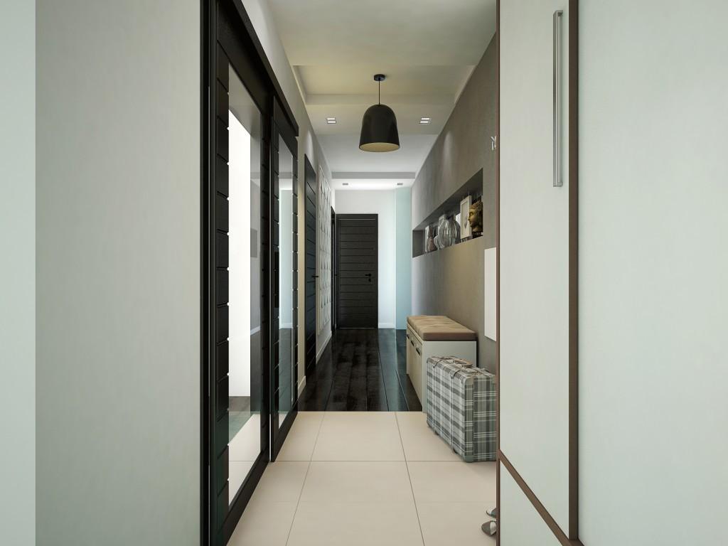 узкий коидор в панельном доме фото