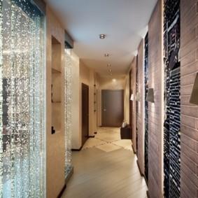 длинный узкий коридор в квартире идеи интерьер
