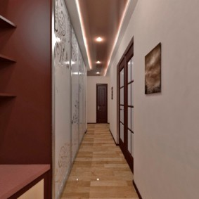 длинный узкий коридор в квартире идеи интерьера