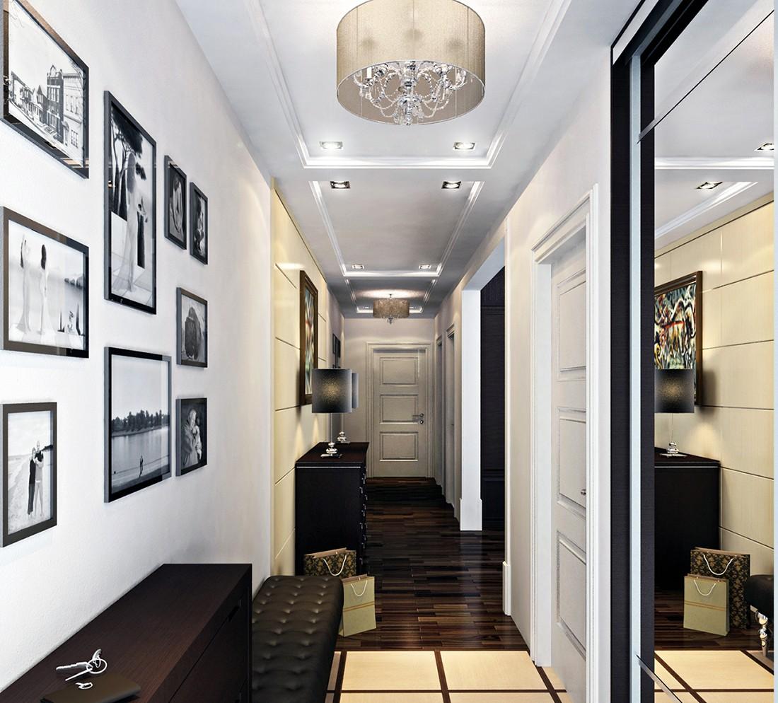 длинный узкий коридор