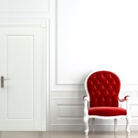 Подбор цвета двери в тон отделки стен