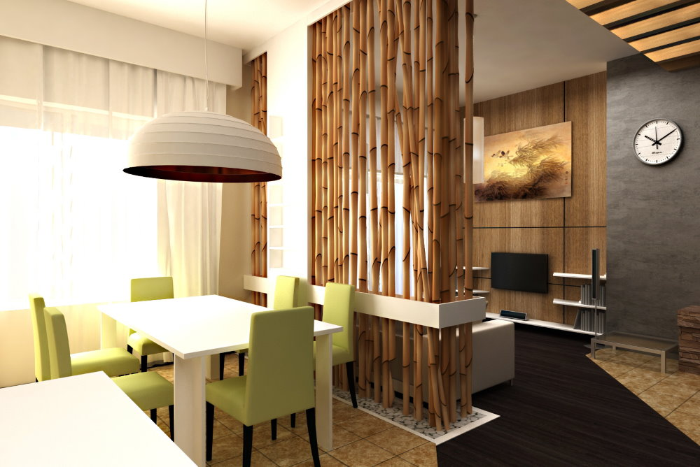 Дизайн однокомнатной квартиры 18 кв м в эко стиле
