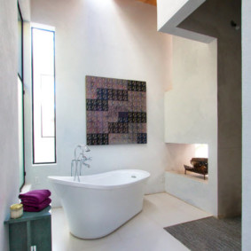 Дизайн ванной в стиле минимализма