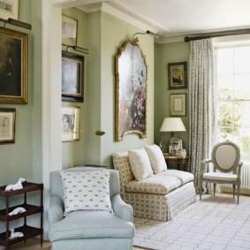Интерьер квартиры в духе английского стиля