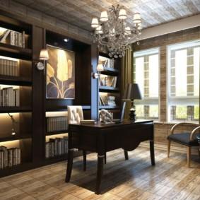 Декоративная подсветка книжных полок