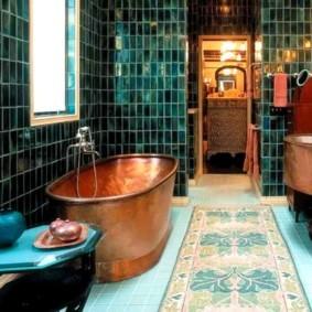 Раритетная ванна из медного сплава