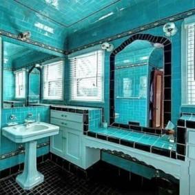 Стиль арт-деко в интерьере ванной
