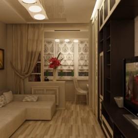 Однокомнатная квартира в стиле прованс