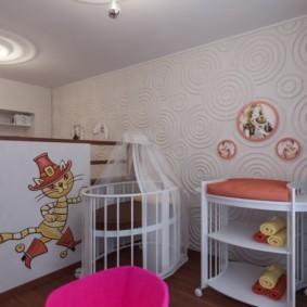 Объемные панели на стене в квартире