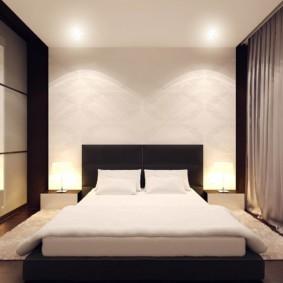 Спальная комната в стиле минимализма