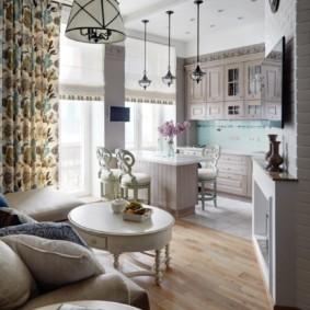 Уютная квартира в стиле прованса