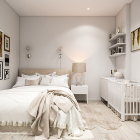 Спальная комната для детей и родителей