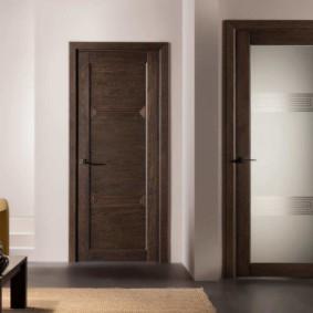 Двери-компаньоны в гостиной комнате