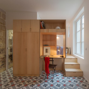 Корпусная мебель в небольшой квартире