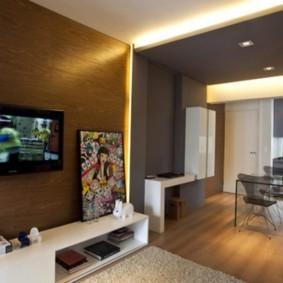 Квартира-студия вытянутой формы
