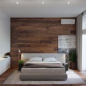 Спальная комната в духе минимализма