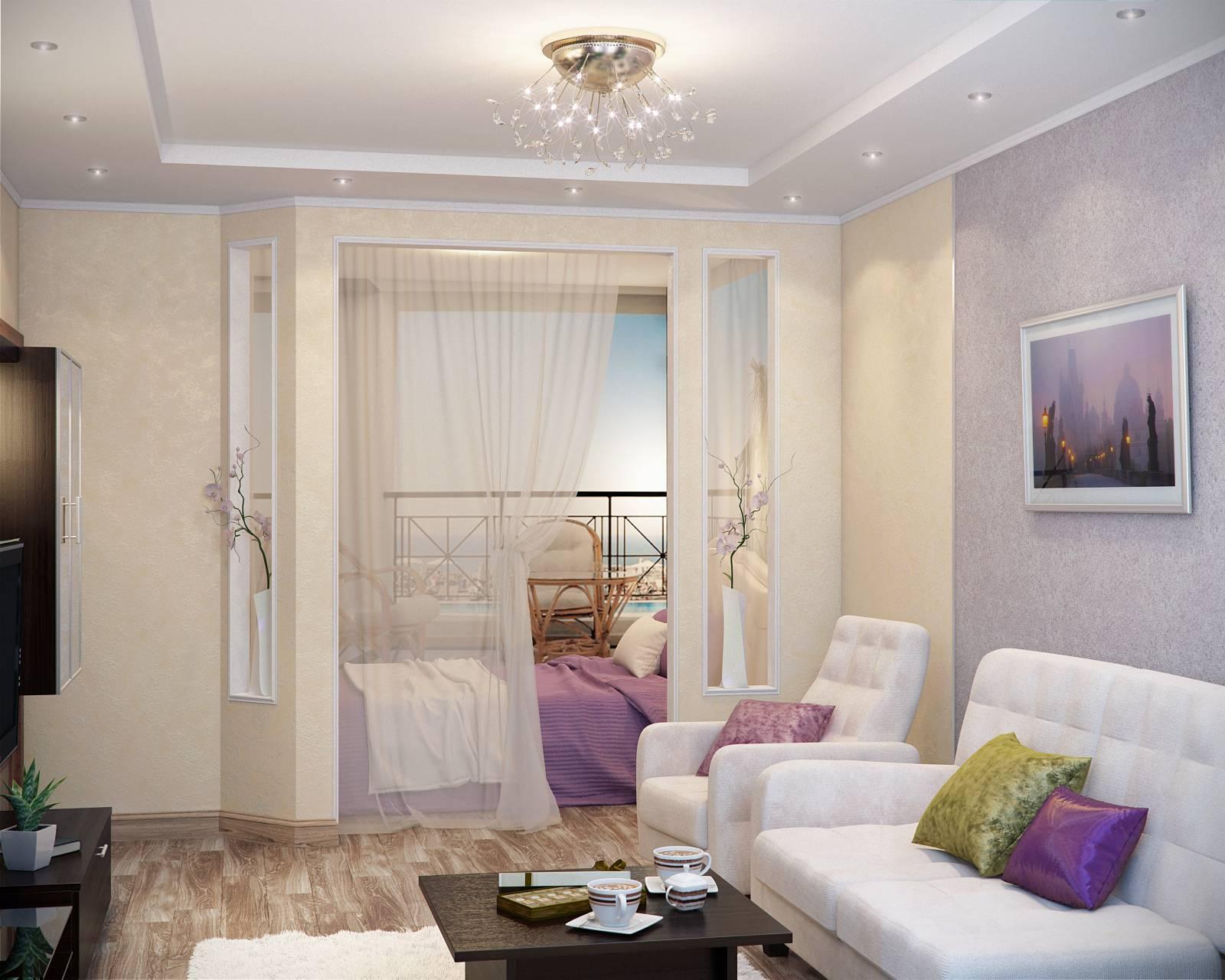 фотографии дизайна однокомнатных квартир с нишей понятием