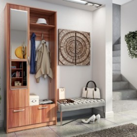 Мебель для прихожей в лофт стиле