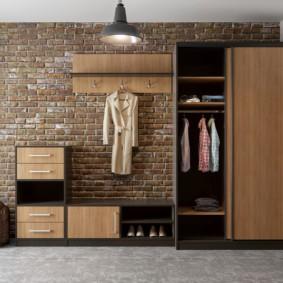 Корпусная мебель в духе лофта